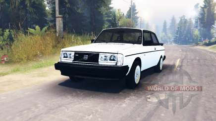 Volvo 242 Turbo 1983 para Spin Tires