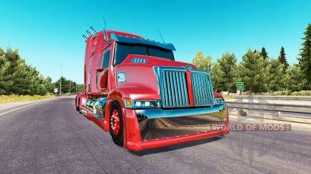 Wester Star 5700 Optimus Prime para American Truck Simulator