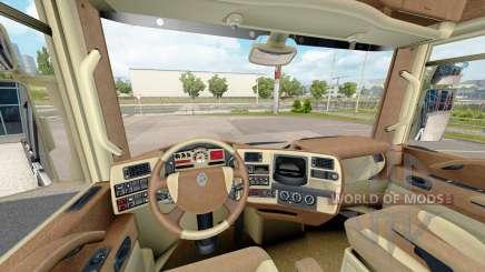 O interior do Renault trucks para Euro Truck Simulator 2