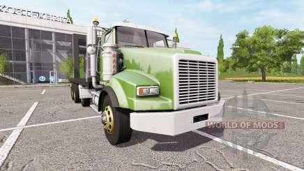 Lizard SX 210 Twinstar Flatbed 4-axles para Farming Simulator 2017