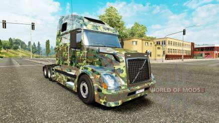 Exército de pele para a Volvo caminhões VNL 670 para Euro Truck Simulator 2