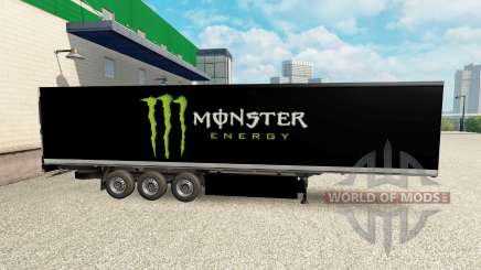 Pele Monster Energy para semi para Euro Truck Simulator 2