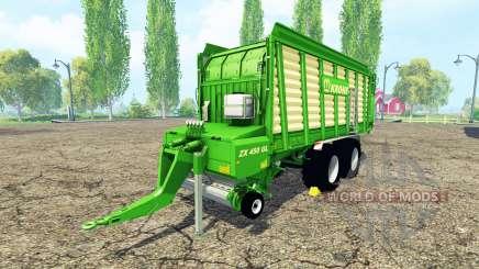 Krone ZX 450 GL v3.0 para Farming Simulator 2015