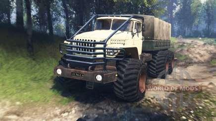Ural 4320-10 Tungus v3.0 para Spin Tires