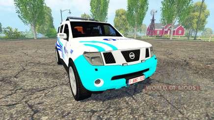 Nissan Pathfinder (R51) Belgian Local Police para Farming Simulator 2015