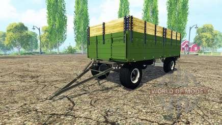 ITAS flatbed trailer para Farming Simulator 2015