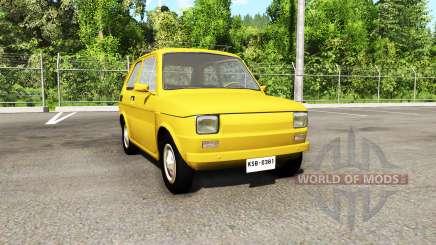 Fiat 126p v3.0 para BeamNG Drive