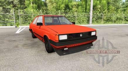 Volkswagen Fox 1989 para BeamNG Drive