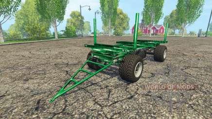 Zaccaria wood trailer para Farming Simulator 2015