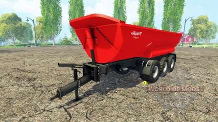 Krampe Halfpipe HP30 para Farming Simulator 2015