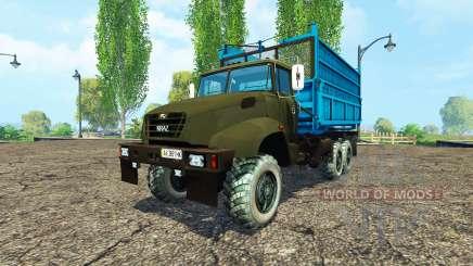O KrAZ B18.1 agrícola apelido v1.1 para Farming Simulator 2015