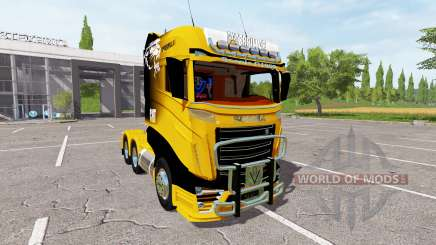Scania R1000 Caterpillar para Farming Simulator 2017