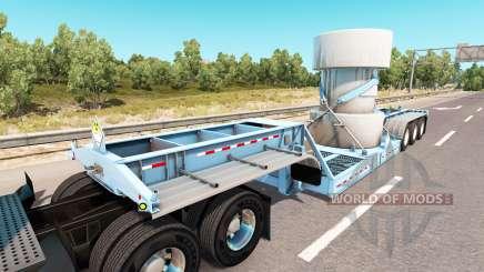 Baixa varrer com uma carga de resíduos nucleares para American Truck Simulator