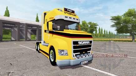 Scania Stax Caterpillar para Farming Simulator 2017