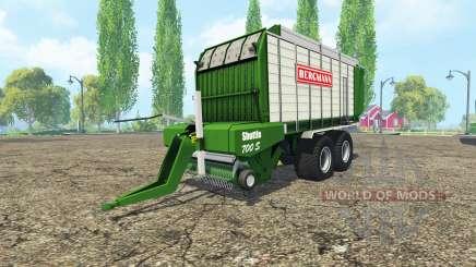 BERGMANN Shuttel 700S para Farming Simulator 2015