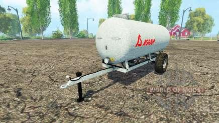 Agram water trailer para Farming Simulator 2015