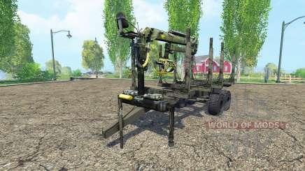 Timber trailer para Farming Simulator 2015
