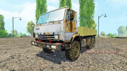 KamAZ 43114 v1.1 para Farming Simulator 2015