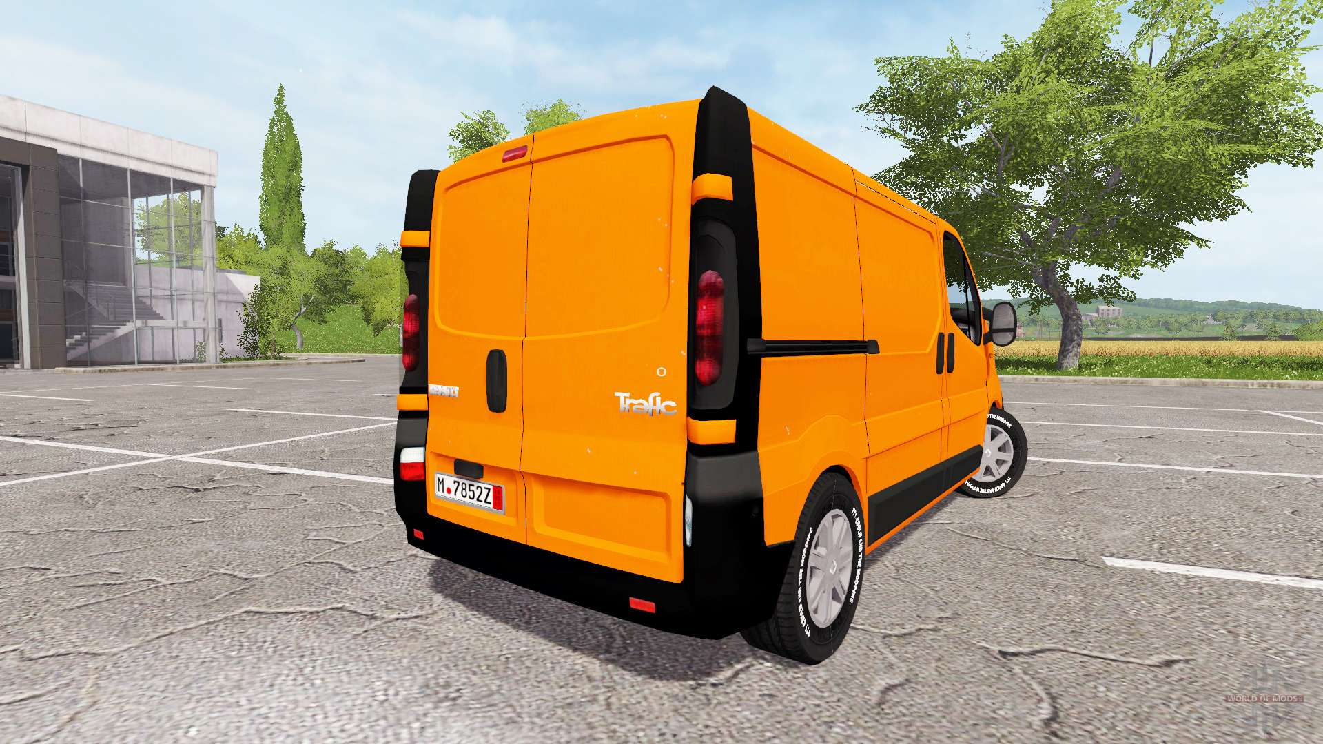 renault trafic v1 4 4 para farming simulator 2017. Black Bedroom Furniture Sets. Home Design Ideas