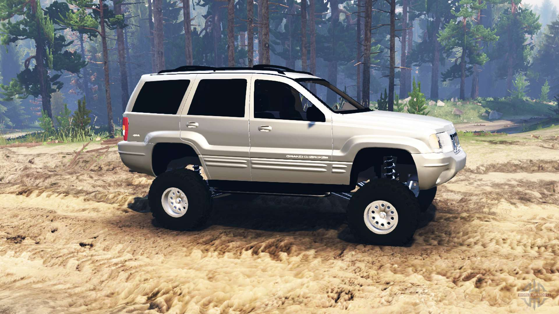 Jeep Grand Cherokee Wj 2004 Para Spin Tires