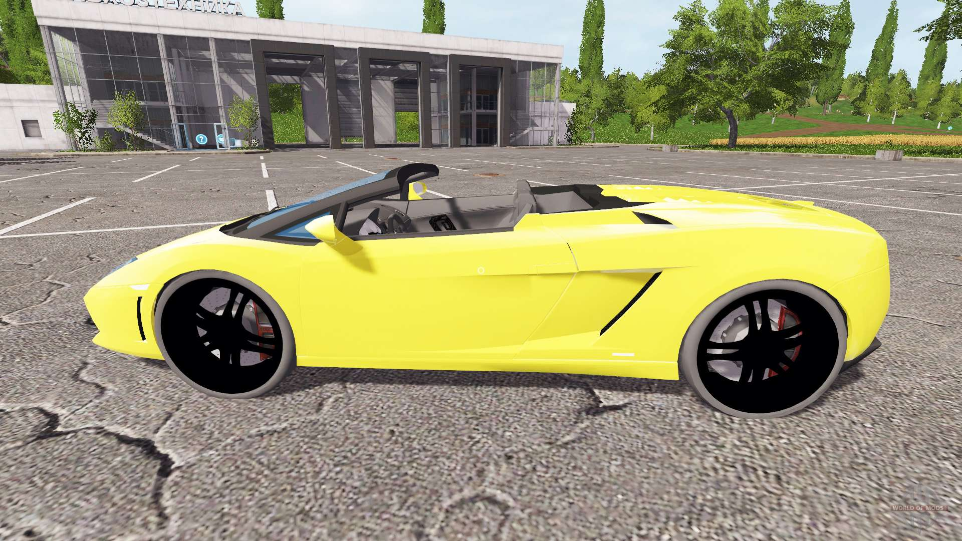 Lamborghini Gallardo Spyder V2 0 Para Farming Simulator 2017