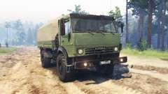 KamAZ 4350 para Spin Tires