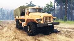 Ural 375 Floresta vagabundo para Spin Tires
