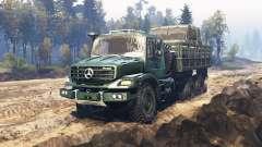 Mercedes-Benz Zetros 2733 A v6.1 para Spin Tires