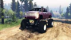 Dodge Dakota TTC v2.0 para Spin Tires
