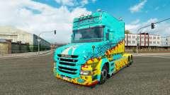 Pele Mckay por Vince trator Scania T