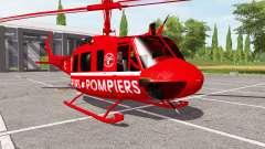 Bell UH-1D sapeurs-pompiers para Farming Simulator 2017