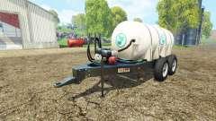 Lizard Fertilizer Trailer para Farming Simulator 2015