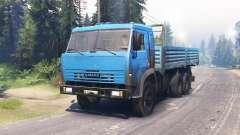 KamAZ 53215 para Spin Tires