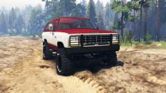 Dodge Ramcharger 1982 para Spin Tires
