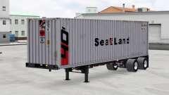 Uma coleção de trailers v1.4 para American Truck Simulator