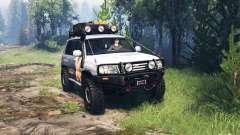 Toyota Land Cruiser 105 v4.0 para Spin Tires