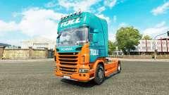 Pedágio pele para o Scania truck