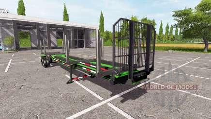 Logging Trailer para Farming Simulator 2017