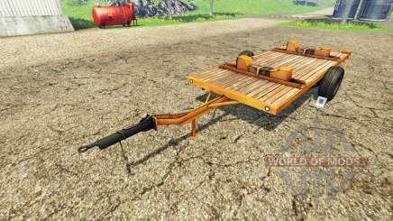Cutter Trailer para Farming Simulator 2015