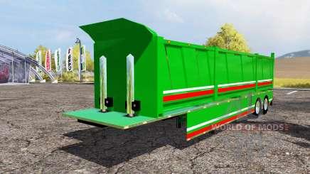 Tipper semitrailer para Farming Simulator 2013