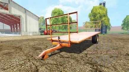 Bale trailer para Farming Simulator 2015