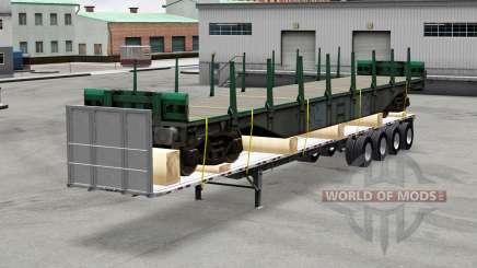 Oversize trailers USA para American Truck Simulator