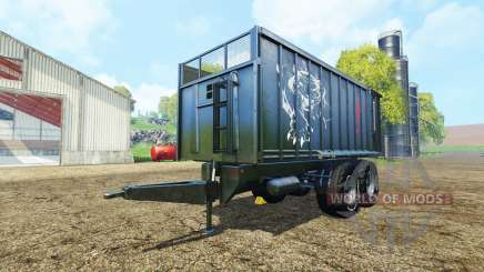 Fliegl TMK 266 black panther edition para Farming Simulator 2015