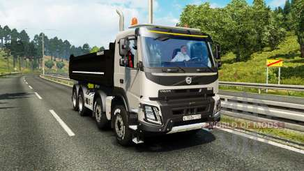 Volvo FMX Meiller Kipper para Euro Truck Simulator 2