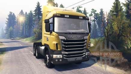 Scania R730 v2.0 para Spin Tires