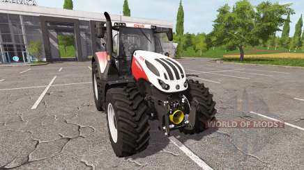Steyr Terrus 6300 CVT v1.4 para Farming Simulator 2017