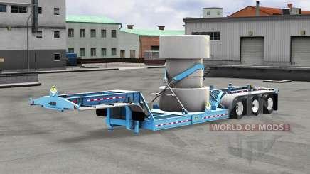 Baixa varrer com uma carga de resíduos nucleares v1.1 para American Truck Simulator