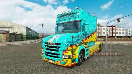 Pele Mckay por Vince trator Scania T para Euro Truck Simulator 2