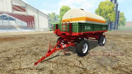 Krone Emsland water tank para Farming Simulator 2015