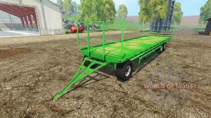 Universal bale trailer para Farming Simulator 2015